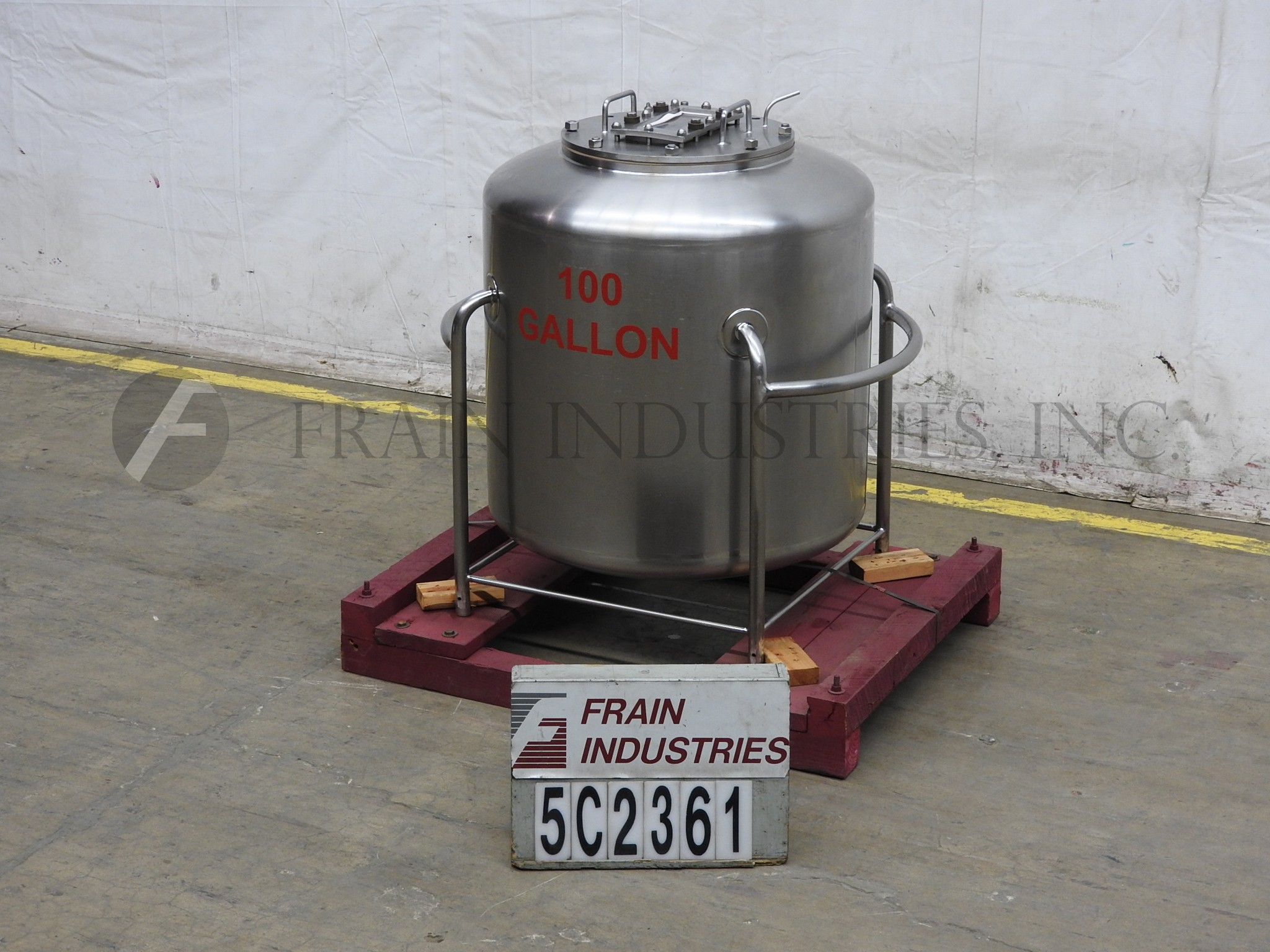 Small Stainless Steel Tanks