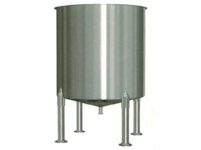 Small Open Top Vertical Stainless Steel Tank
