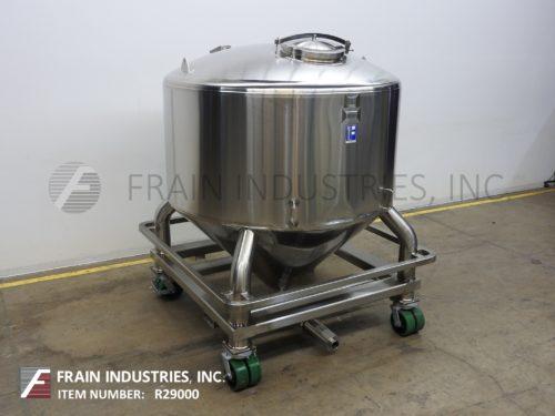 30 Gallon Stainless Steel Tank