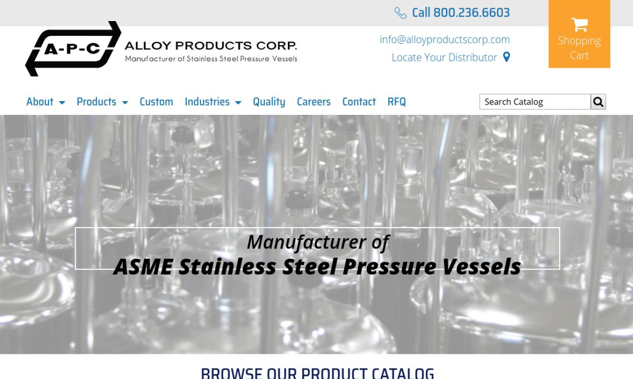 Alloy Products Corp.