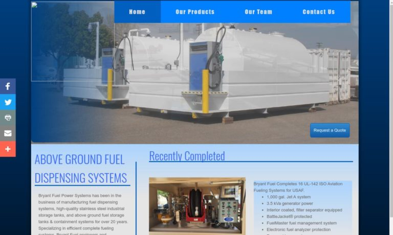 Bryant Fuel & Power Systems, Inc.
