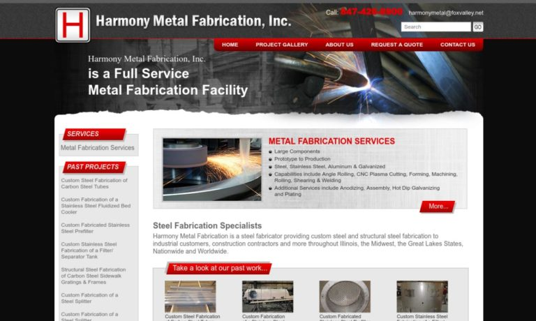 Harmony Metal Fabrication, Inc.