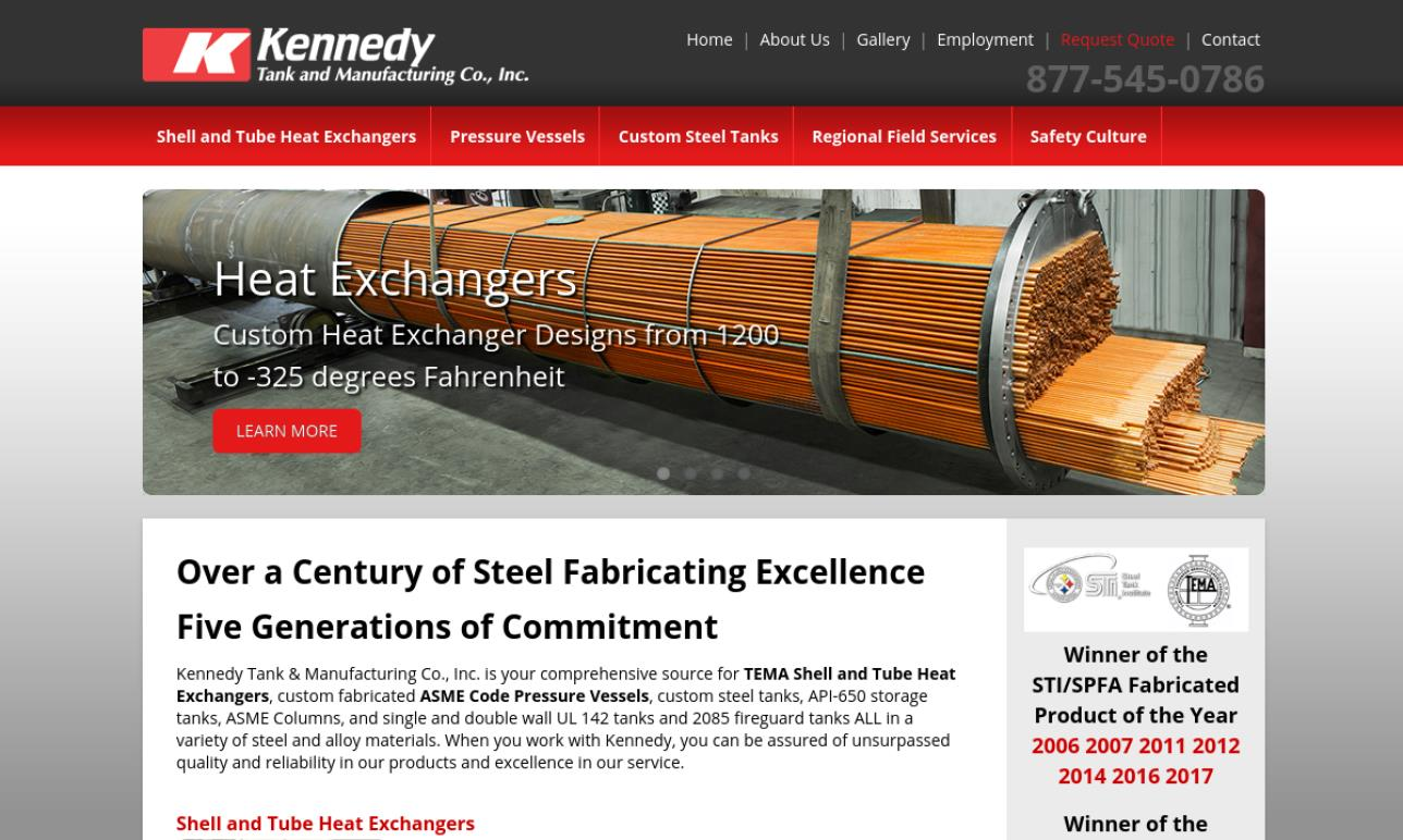 Kennedy Tank and Manufacturing Co., Inc.