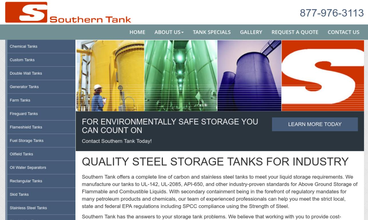 Southern Tank & Manufacturing Inc.