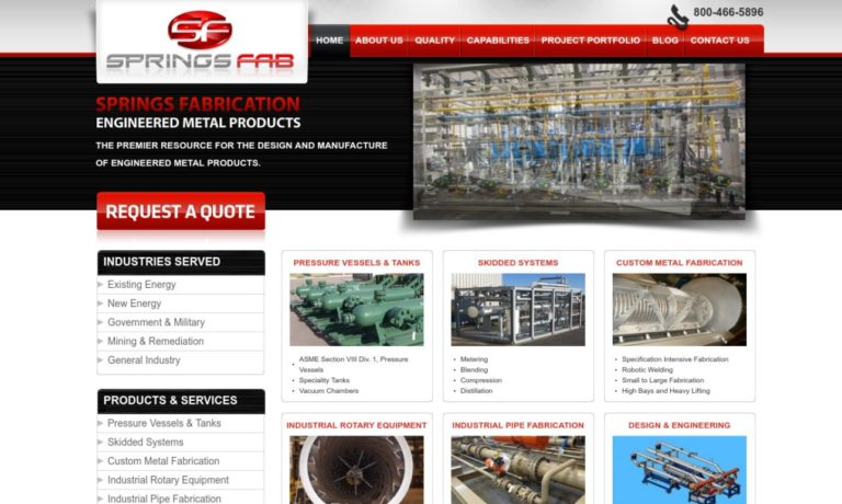 Springs Fabrication, Inc.
