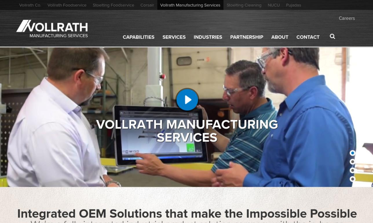 Vollrath Manufacturing Services