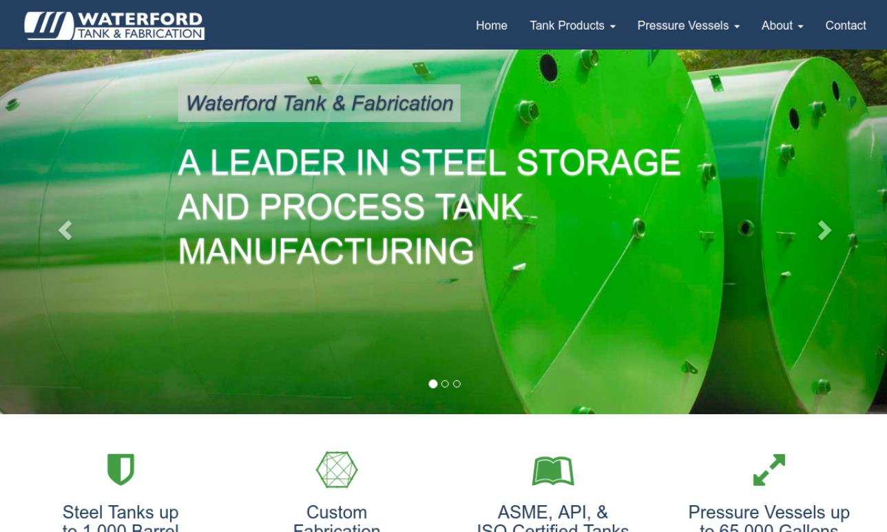 Waterford Tank and Fabrication, LTD