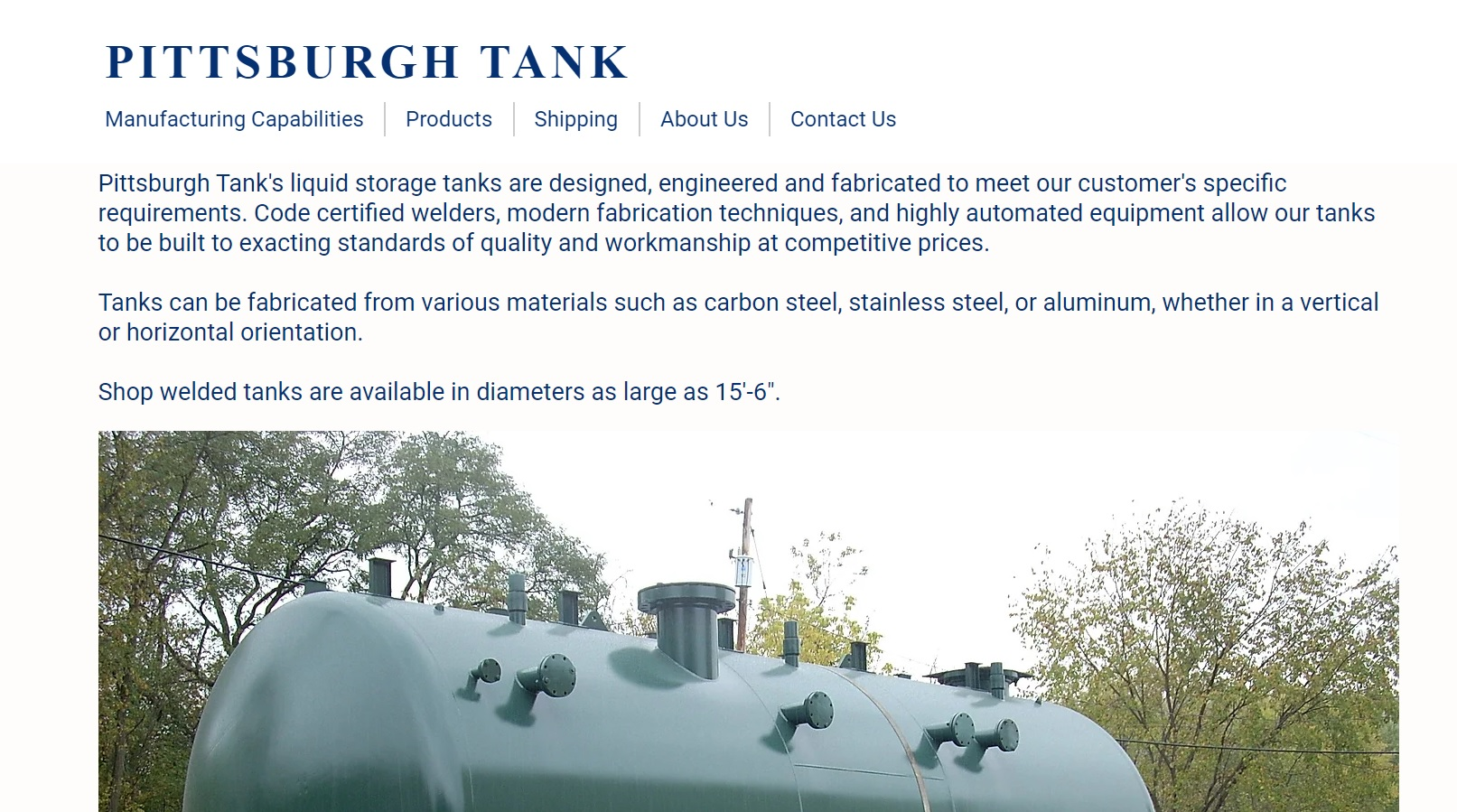 Pittsburgh Tank Corporation