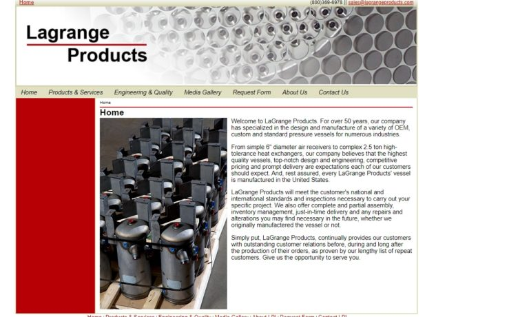 LaGrange Products, Inc.