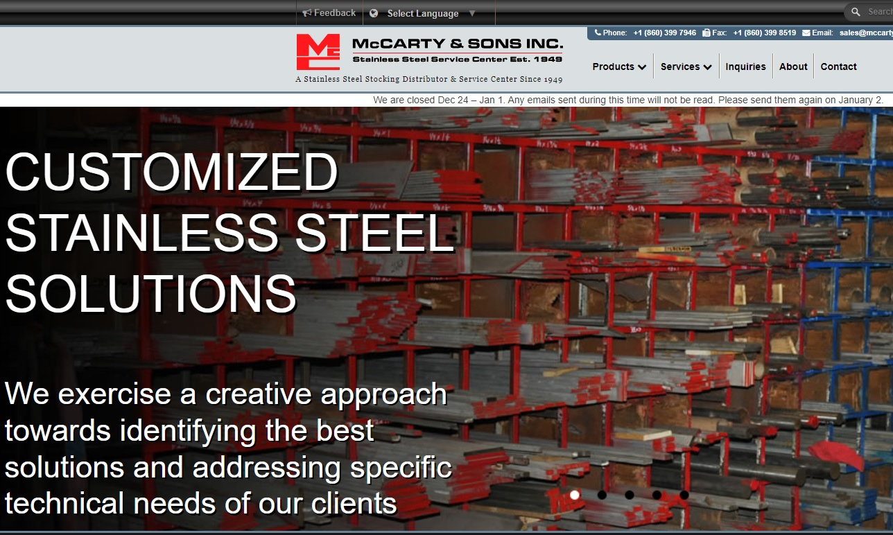McCarty & Sons, Inc.